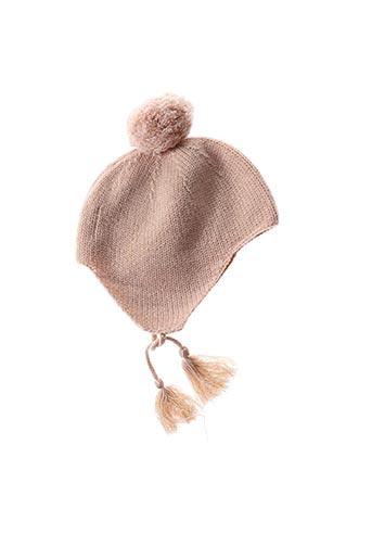 Bonnet rose LOUIS*LOUISE pour fille