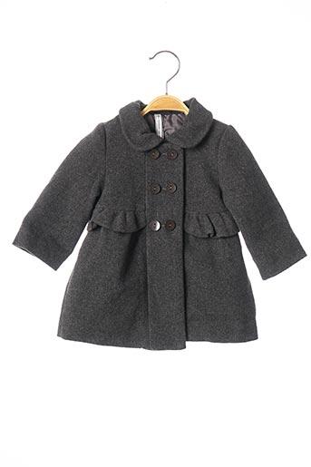 Manteau long gris MAYORAL pour fille