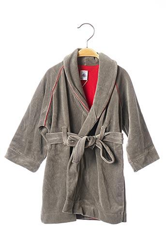 Robe de chambre gris PETIT BATEAU pour garçon