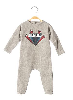 Pyjama gris LOUIS*LOUISE pour garçon