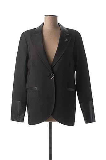 Veste chic / Blazer noir DIVAS pour femme