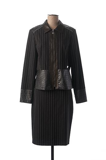 Veste/jupe noir DIVAS pour femme
