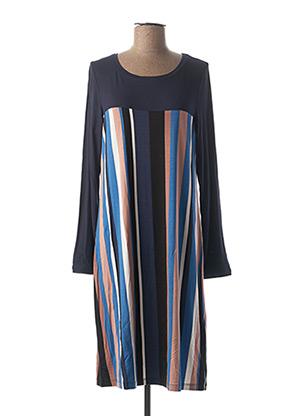 Chemise de nuit bleu CHERIE LINE pour femme