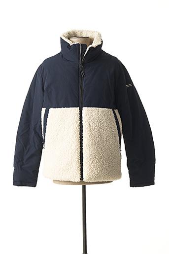 Manteau court bleu CHAMPION pour homme