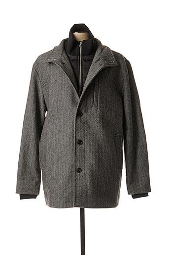 Manteau long gris JACK & JONES pour homme