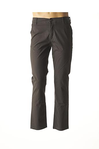 Pantalon casual gris SELECTED pour homme