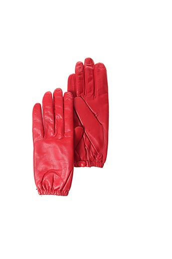 Gants rouge BUSCARLET pour femme