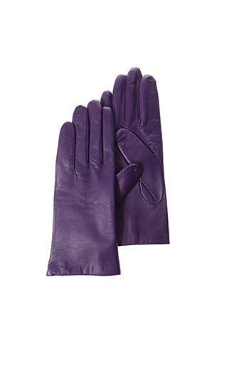 Gants violet GANT SAINTE ANNE pour femme