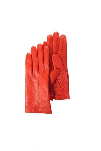 Gants orange BUSCARLET pour femme