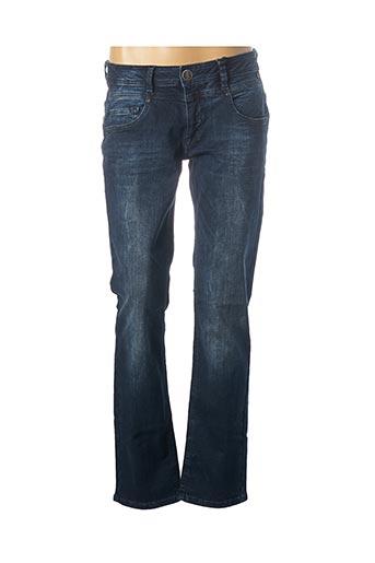 Jeans coupe slim bleu FREEMAN T.PORTER pour femme