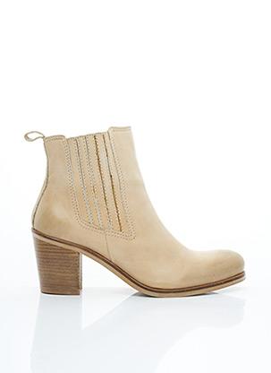 Bottines/Boots beige BISOUS CONFITURE pour femme