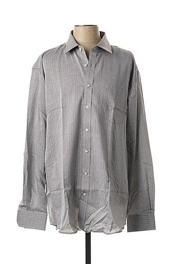 Chemise manches longues gris BEN GREEN pour homme