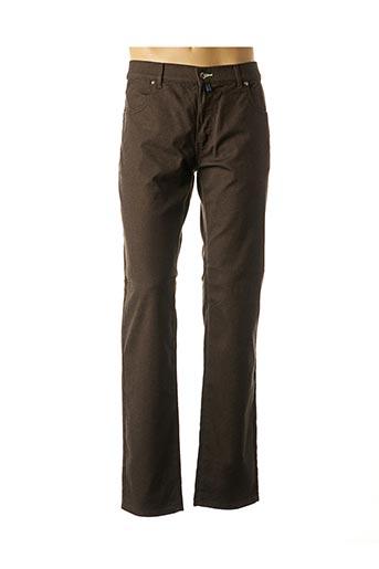 Pantalon casual marron PIERRE CARDIN pour homme