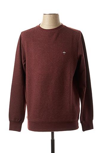 Sweat-shirt rouge FYNCH-HATTON pour homme