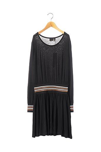 Robe mi-longue noir BECKARO pour fille