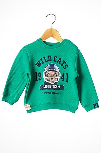 Sweat-shirt vert MAYORAL pour garçon
