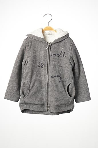 Veste casual gris MAYORAL pour fille