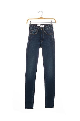 Jeans bootcut bleu LE TEMPS DES CERISES pour femme