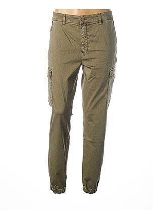 Pantalon 7/8 vert SALSA pour femme