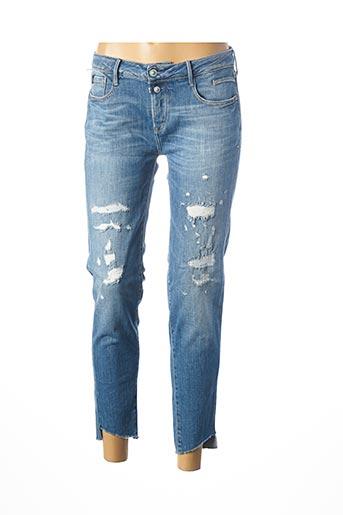 Jeans skinny bleu LE TEMPS DES CERISES pour femme