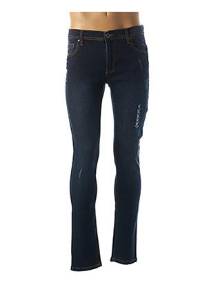Jeans coupe slim bleu HOPENLIFE pour homme