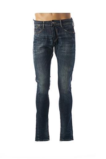 Jeans skinny bleu LE TEMPS DES CERISES pour homme