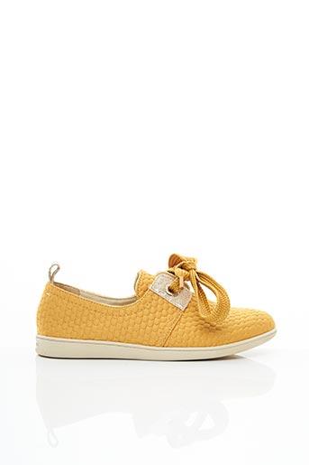 Baskets jaune ARMISTICE pour femme