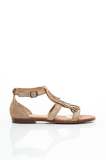 Sandales/Nu pieds beige ARMISTICE pour femme