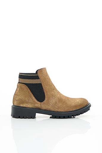 Bottines/Boots jaune CATHERINE PARRA pour femme