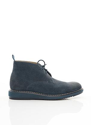 Bottines/Boots bleu CLARKS pour homme