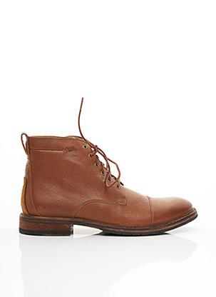 Bottines/Boots marron CLARKS pour homme