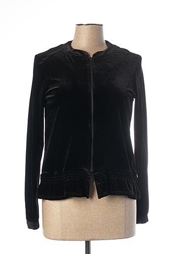 Veste casual noir MADO ET LES AUTRES pour femme