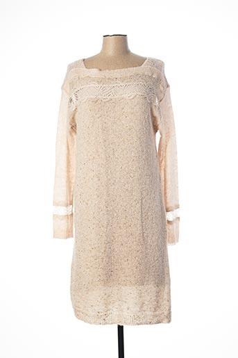 Robe pull beige MADO ET LES AUTRES pour femme