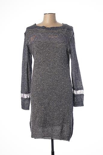 Robe pull gris MADO ET LES AUTRES pour femme