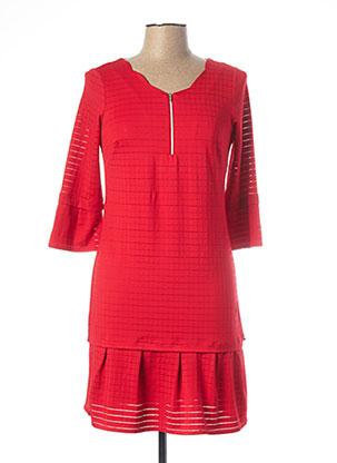 Robe courte rouge MADO ET LES AUTRES pour femme