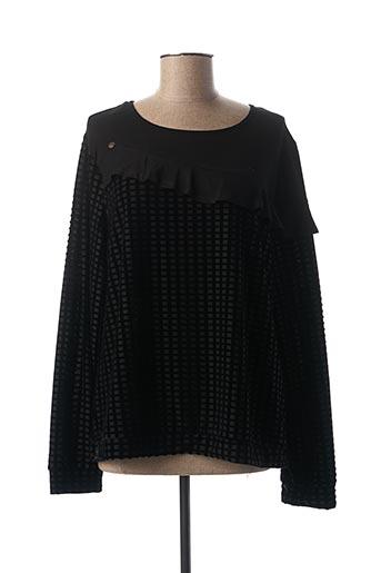 T-shirt manches longues noir MADO ET LES AUTRES pour femme