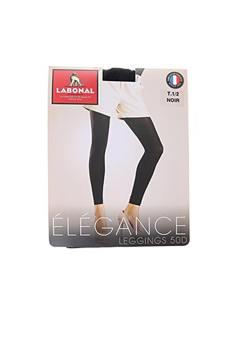 Legging noir LABONAL pour femme
