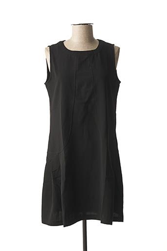 Robe courte noir ARELINE pour femme