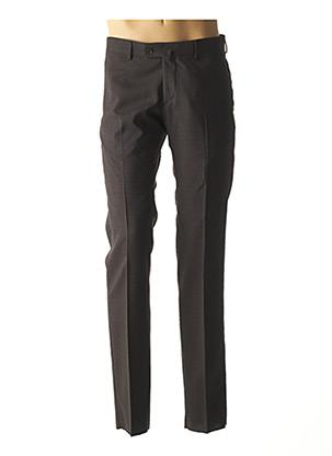 Pantalon chic marron AUTHENTIQUE pour homme