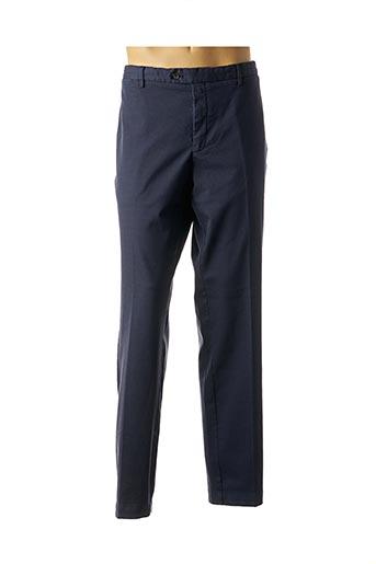 Pantalon chic bleu HACKETT pour homme