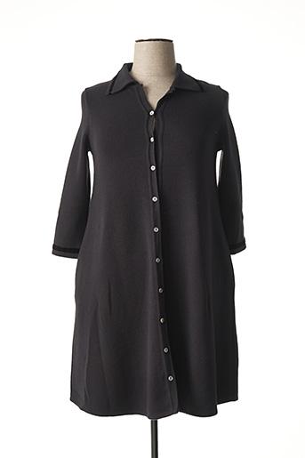 Robe pull gris LE PETIT BAIGNEUR pour femme