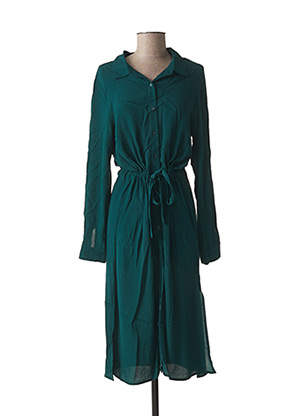 Robe mi-longue vert GRACE & MILA pour femme