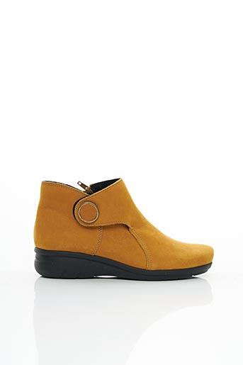 Bottines/Boots jaune HIRICA pour femme
