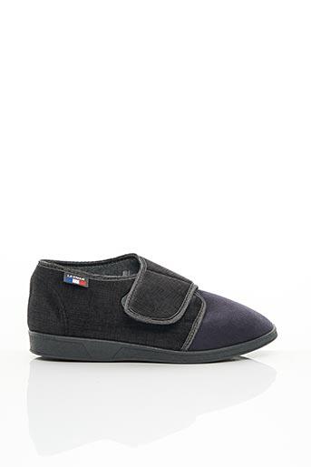 Chaussons/Pantoufles gris LA VAGUE pour homme