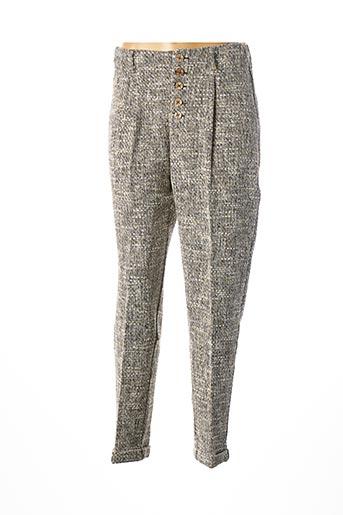 Pantalon chic jaune BÔ-M pour femme