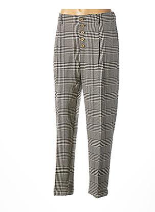 Pantalon chic beige BÔ-M pour femme