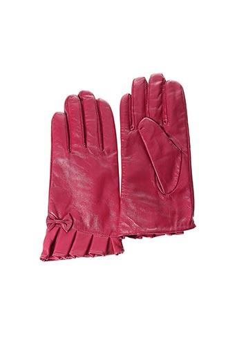 Gants rose ARTICLES DE PARIS pour femme