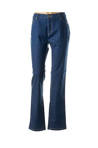 Jeans bootcut bleu SAINT HILAIRE pour femme