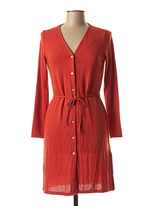 Robe courte orange NICE THINGS pour femme