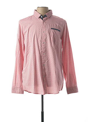 Chemise manches longues rose LEE COOPER pour homme